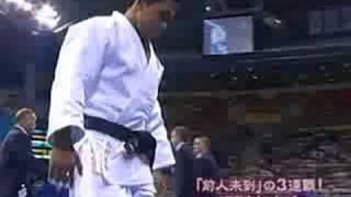野村忠宏の4年前アテネオリンピック 金メダル 60kg級