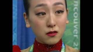 浅田真央選手の涙 バンクーバーオリンピック2010