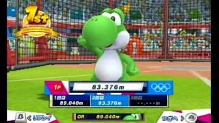 マリオ&ソニック AT ロンドンオリンピック ハンマー投