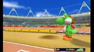 マリオ&ソニック AT ロンドンオリンピック 走幅跳