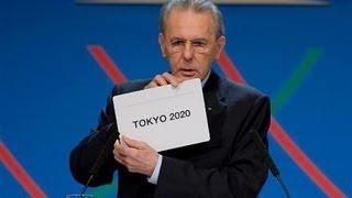 【東京決定!!!】2020年オリンピック 東京開催!!! 発表の瞬間 【東京五輪】