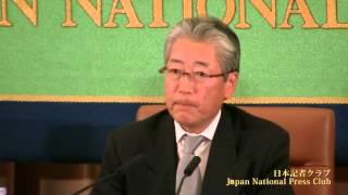 竹田恒和 東京2020オリンピック・パラリンピック招致委員会理事長 2013.10.28