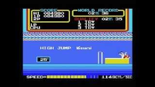 MSX ハイパーオリンピック2 Hyper Olympic 2
