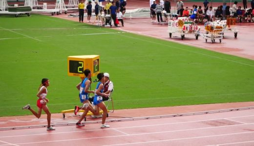 男子1年1500m長崎県ジュニアオリンピック選考会2019/9/1