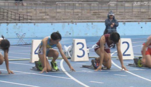 第50回ジュニアオリンピック(Junior Olympics) A女子100mハードル 予選4組