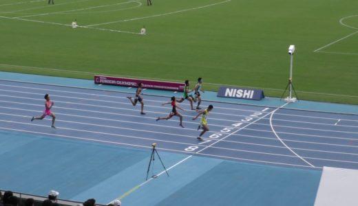 A男子200mチャレンジ1組 ジュニアオリンピックR01