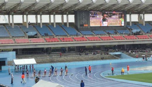2019  ジュニアオリンピック 女子C 100m 予選2組