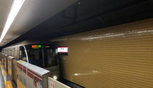 都営大江戸線オリンピックラッピング車12-000形12-511編成が到着するシーン!