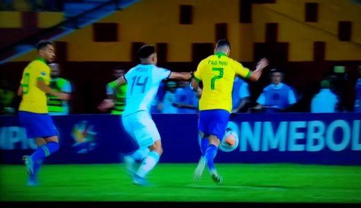 【東京オリンピック・サッカー最終予選】アルゼンチン vs ブラジル 2020年2月9日 | 先制 !