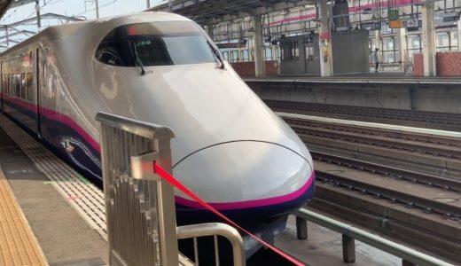 E5系新幹線オリンピック仕様【やまびこ207号仙台行】福島駅発車  他…