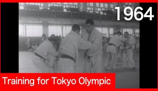 Training for Tokyo Olympic 1964  オリンピックに向けて練習 昭和39年
