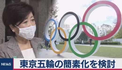 東京五輪の簡素化を検討