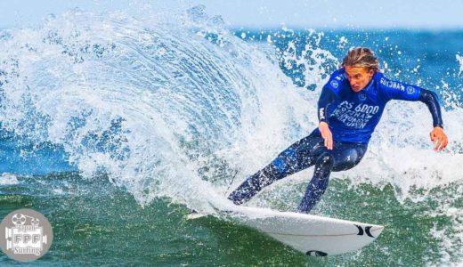 オリンピックサーフィン会場で行われた2019yQS6000試合前の世界のトッププロのフリーサーフィン