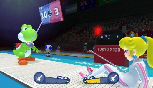 (延期になっても)マリオ&ソニック AT 東京2020オリンピック – ワンマッチ 「フェンシング」