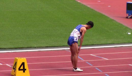 2020全中陸上 男子800m予選