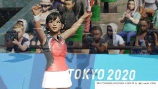 東京2020オリンピック™ #27 テニス・シングルス 最初はダメかと思いましたが諦めずに頑張ると…!